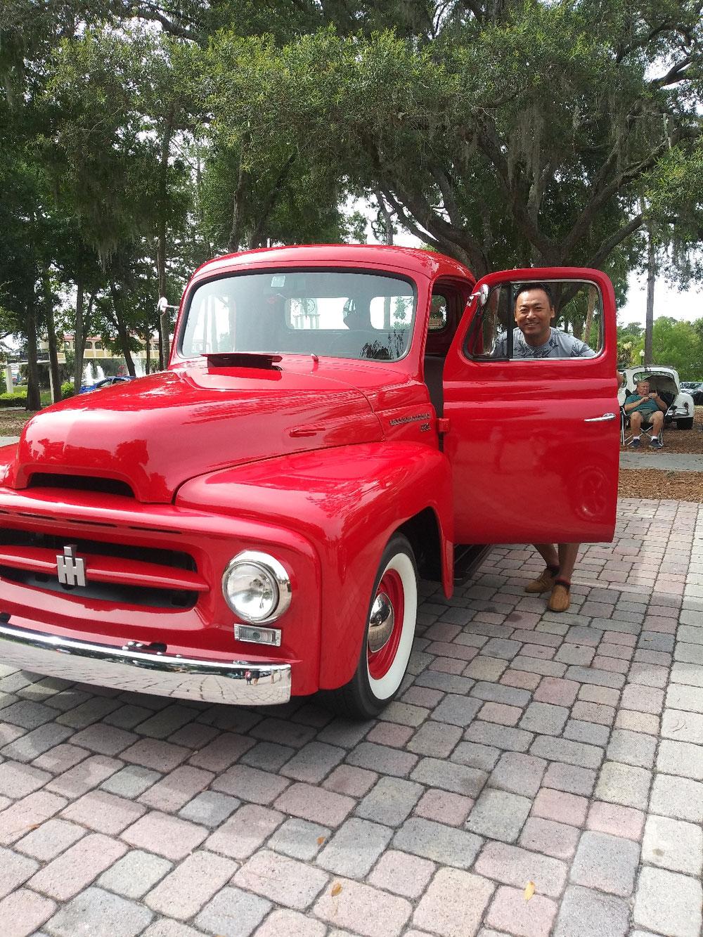 可愛らしいトラックがありました!
