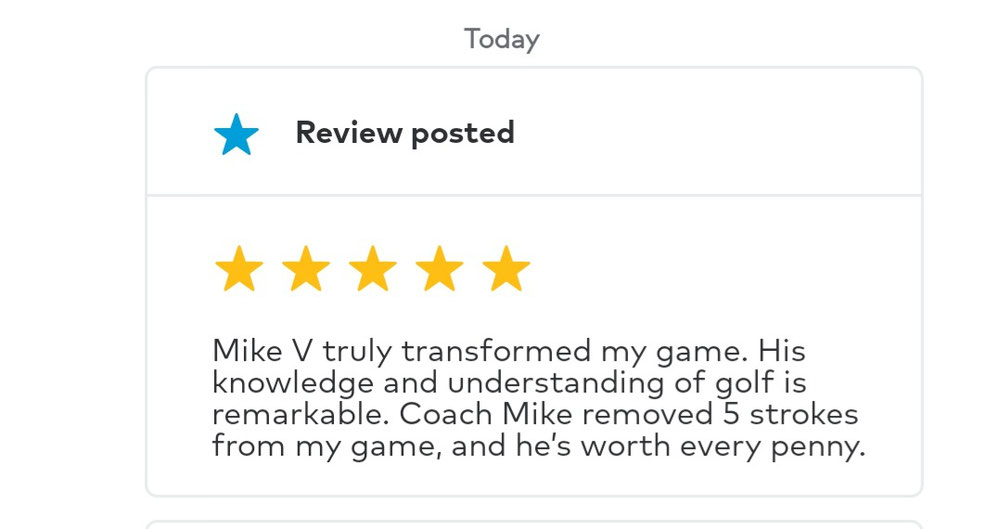Mike's student Brett H provided this excellent testimonial of Mike's teaching on December 30, 2020.
