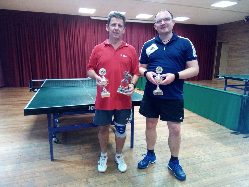 Vereinsmeister2019 F.Wemmel-Einzel/Doppel u. T. Kahlfeld-Doppel