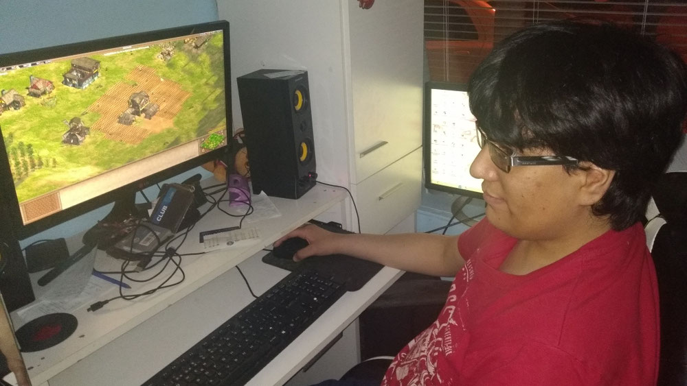 Ezefer Jugando Age of Empires II
