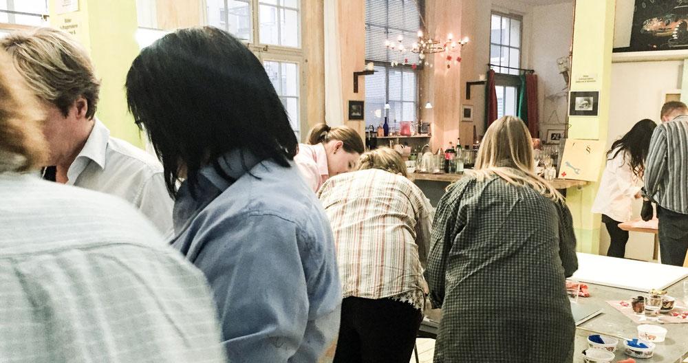 Kunst Events für Firmen, kreativ und einzigartig in Hannover
