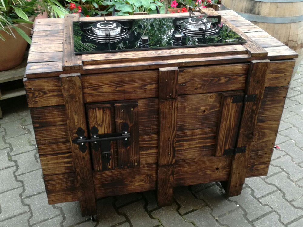 Outdoor Küche Gaskochfeld : Einbau gaskochfeld outdoor falcon kitchener range cooker