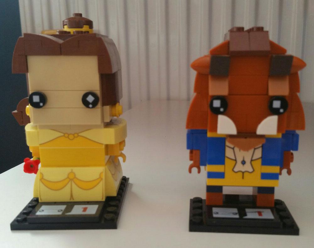 Andrea (Valladolid) Lego Brick Headz