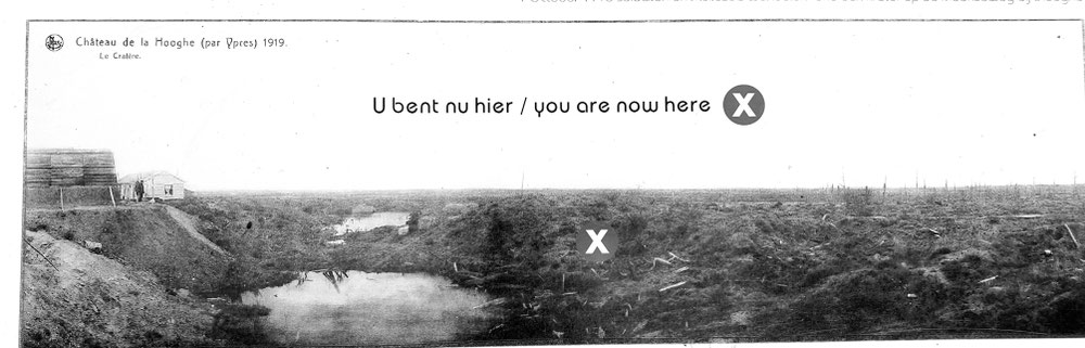 Hooge Krater damals