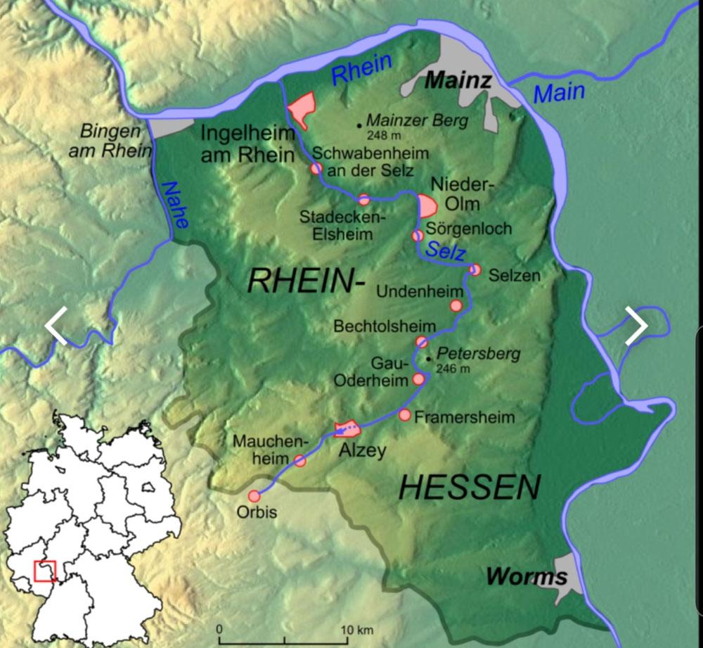 Selztal-Radweg
