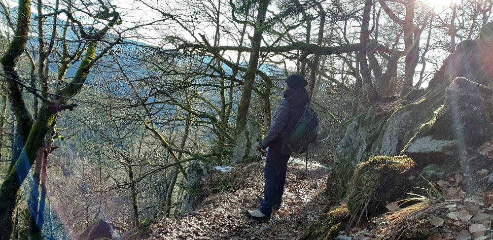 Am Sentier des Roches