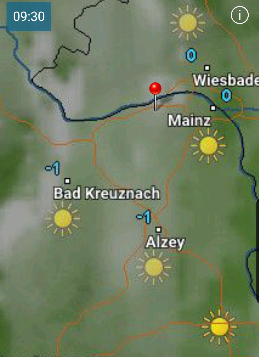 9.30h Mit der Bahn nach Kirchheimbolanden