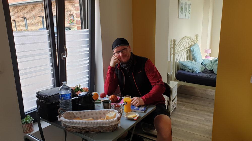 Französisches Frühstück in Fromelles