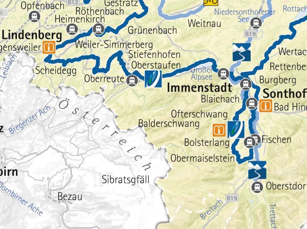Etappe 5 -Von Scheidegg nach Oberstdorf