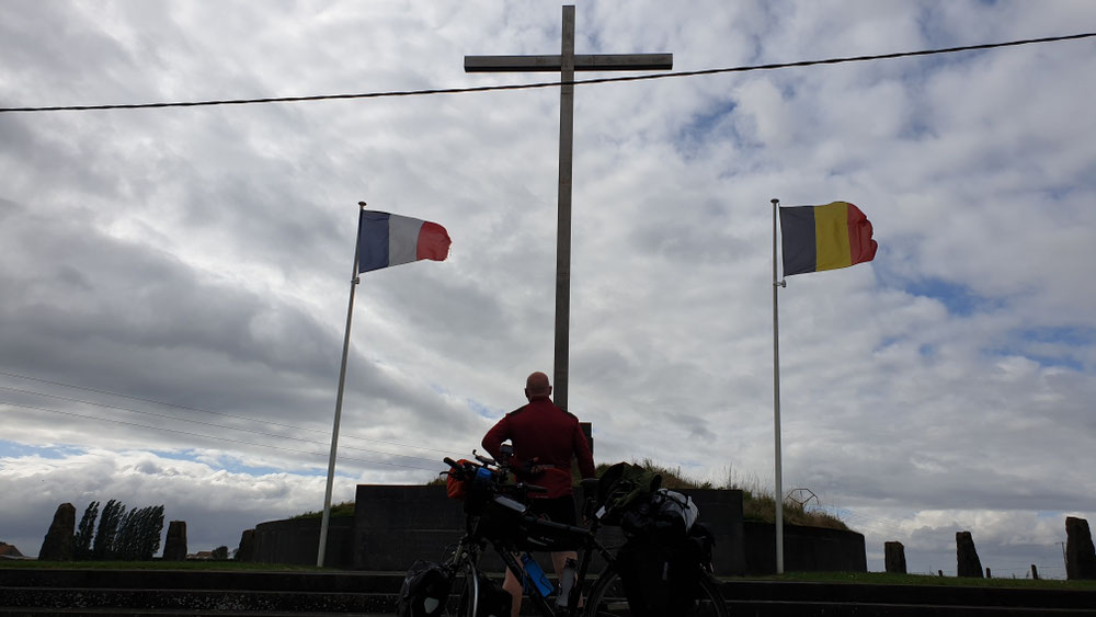 Denkmal am Ort des ersten Gasangriffs