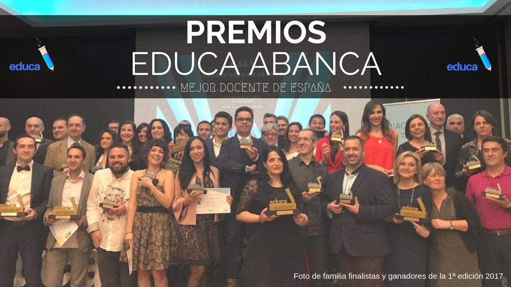 premios educa; docentes; educa; mejor docente de españa