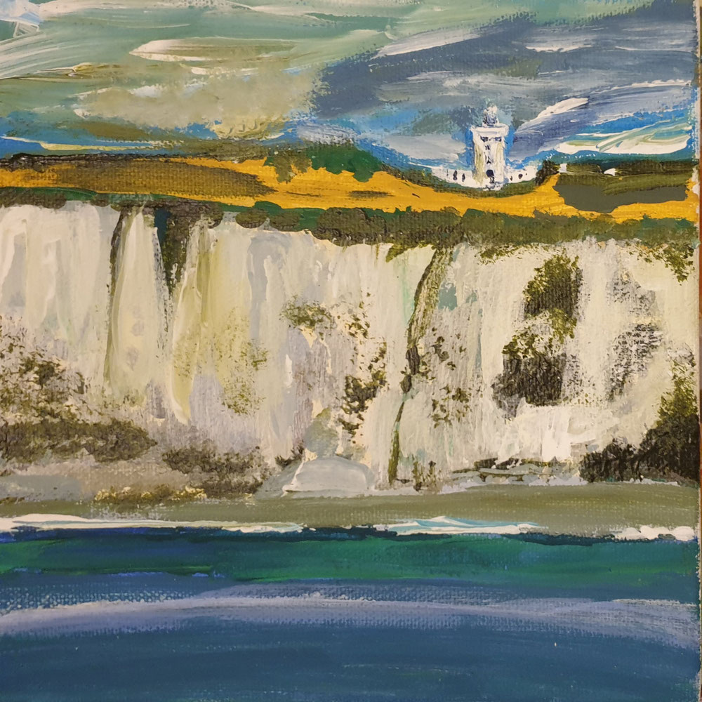 White Cliffs 20 x 20 cm