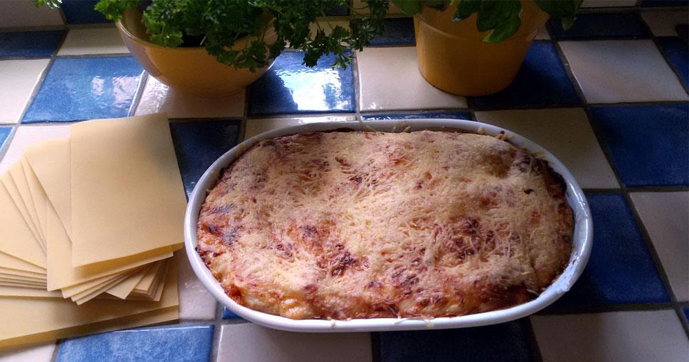Rezept Gemüse Lasagne