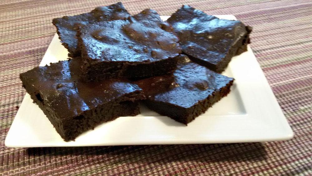Rezept vegane Brownies