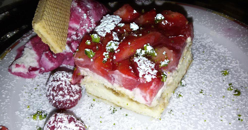 Rezept veganes Erdbeer Tiramisu