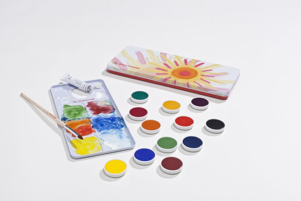451-- Deckfarben Einzelfarben