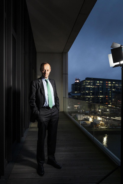 CDU-Politiker Friedrich Merz | Fotografin: Anne Hufnagl