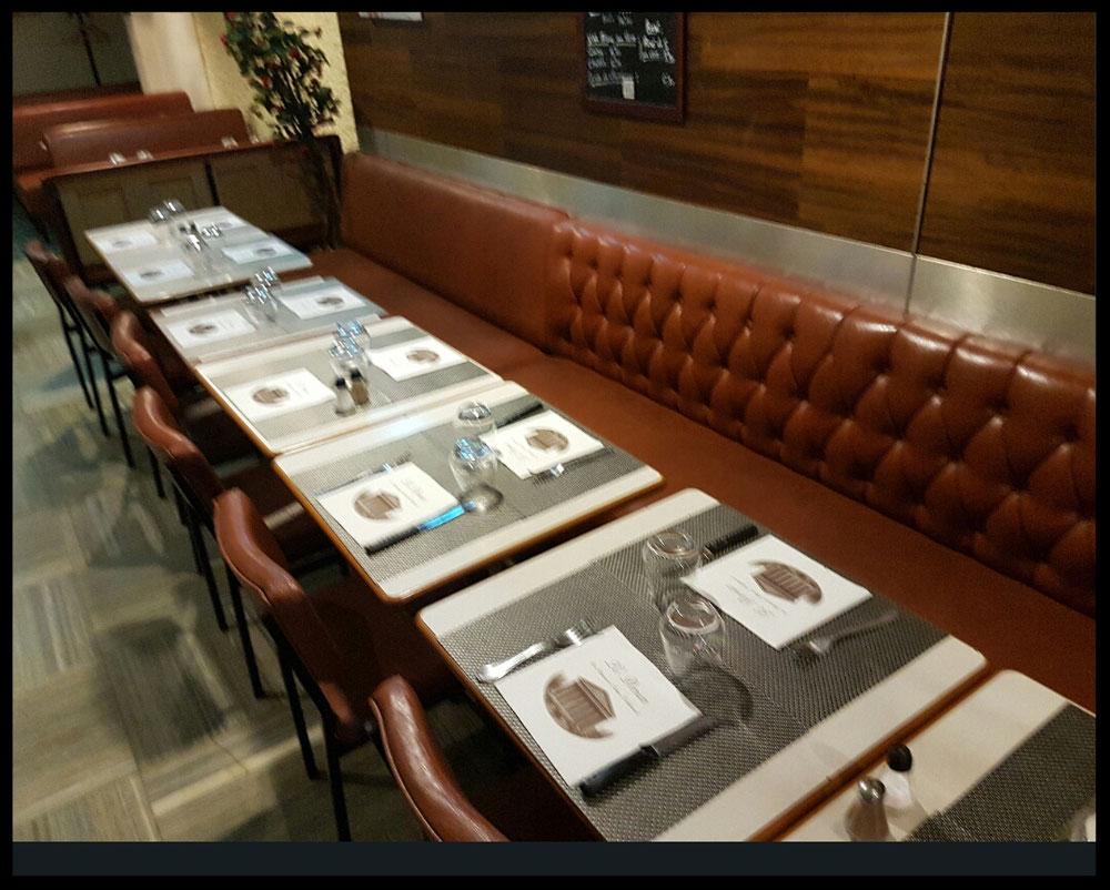 Restaurant le DORIAN 75008 ( ancien propriétaire ) avant notre passage