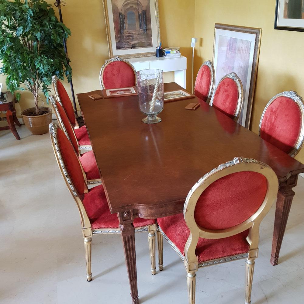 Refection fauteuil et chaise a Neuilly-sur-Seine