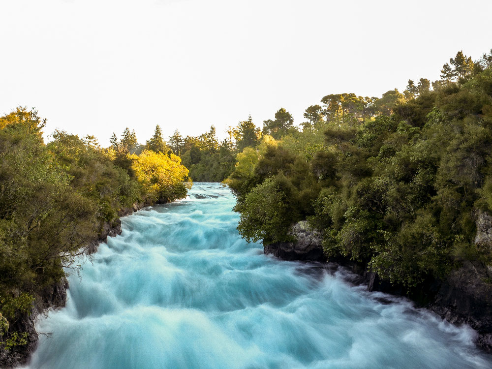 Die lovely Huka Falls