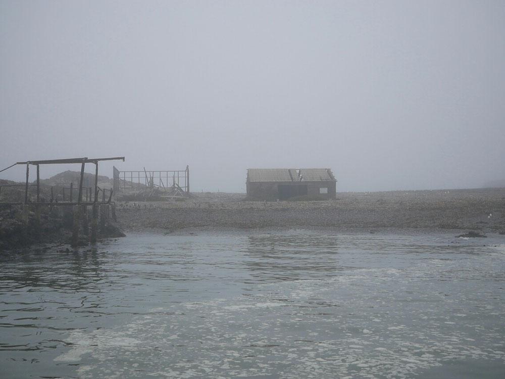 Und was machen sie so? Ich wohne auf einer kleinen Insel und schaufel Vogelmist - der Vogeldünger wird auch heute noch recht professionell bei Walvis Bay abgebaut