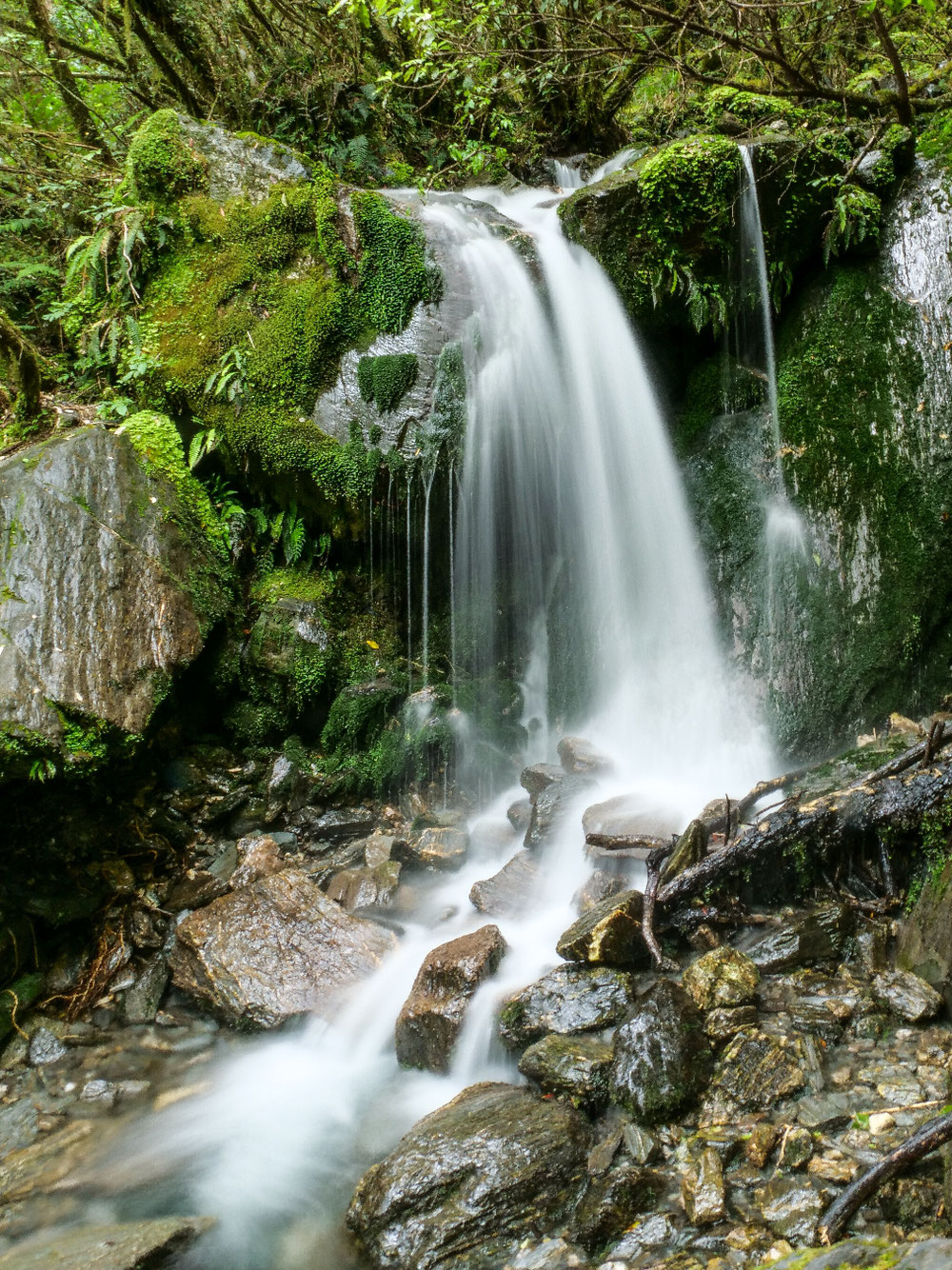 Waterfall on the way