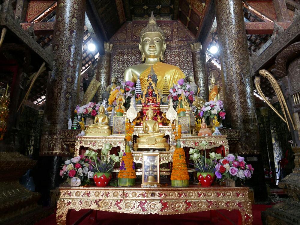 Die Buddahstatue im Sim
