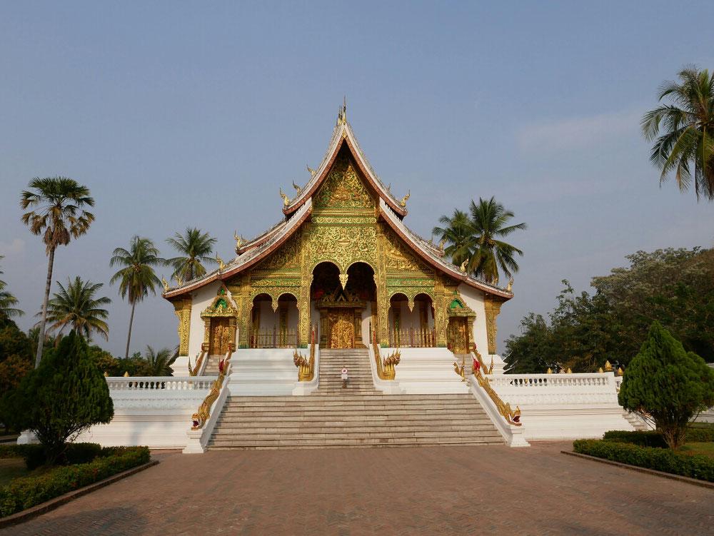 der Ho Phra Bang - mit der kleinen aber wichtigen Buddahstatue inside