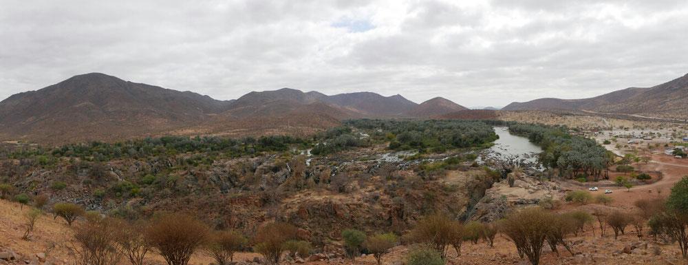 Panorama der Epupa Falls
