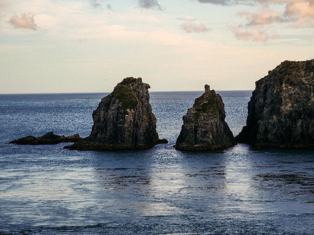 Der letzte Felsen auf der Südinsel
