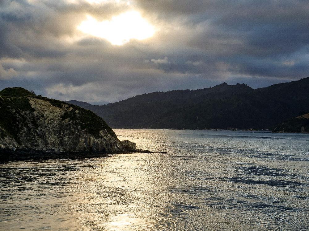 Die letzten Felsen auf der Südinsel