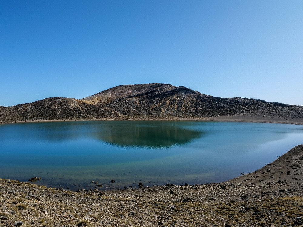 So eine Spiegelung im Berg-/Kratersee ist doch was feines