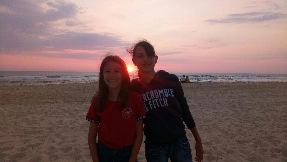 Un coucher de soleils !