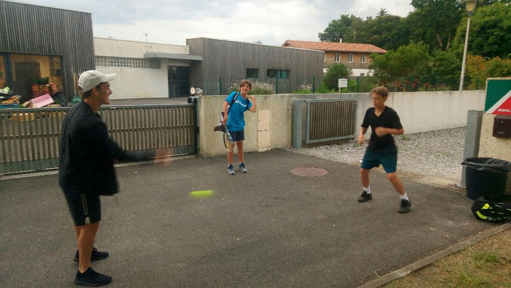 Échauffement de pro pour Adrien par coach Noé !