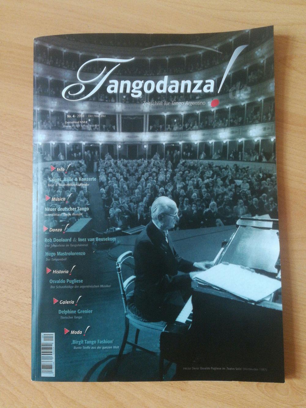Tangodanza - Zeitschrift für Tango Argentino (Nr. 4, 2018)