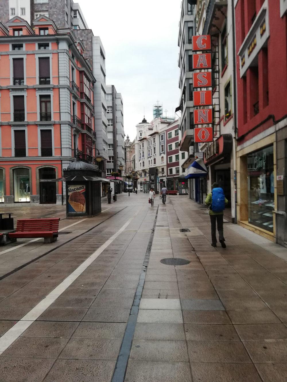 Oviedo 7 Uhr Regen wir glauben es nicht