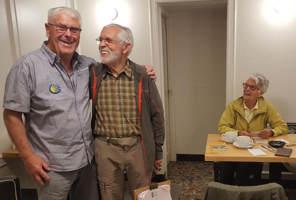 Gerhard und sein Freund Gottfried