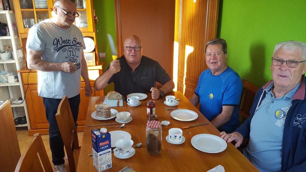 Frühstück im Dona Lubina