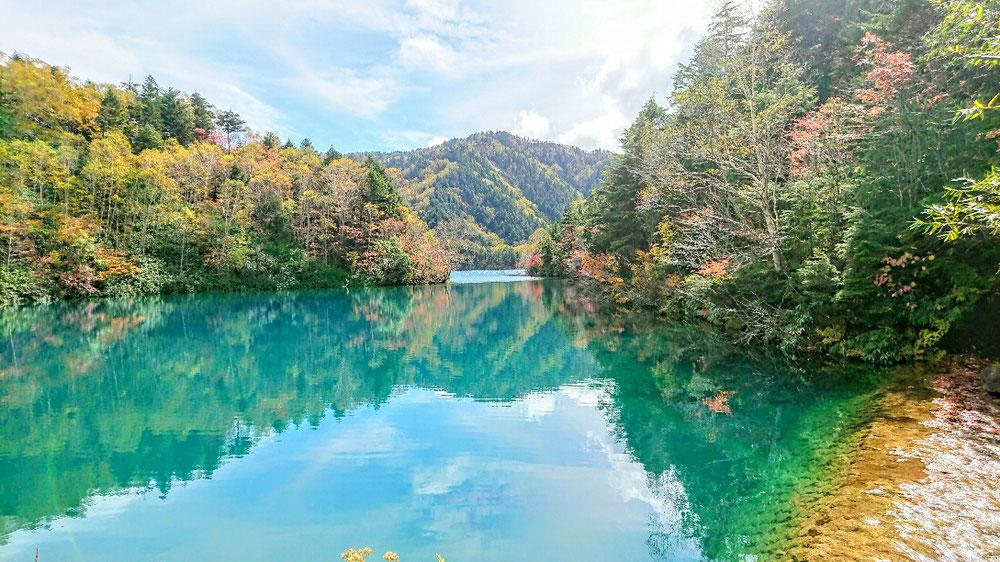 志賀高原の秋、大沼
