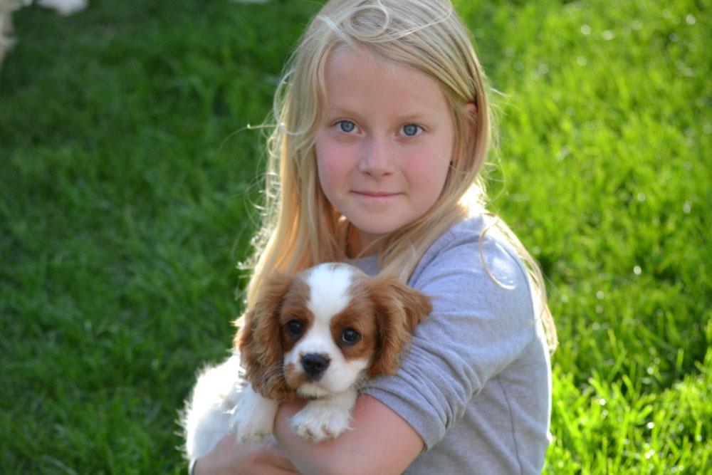 Unsere Tochter Celine mit Summer
