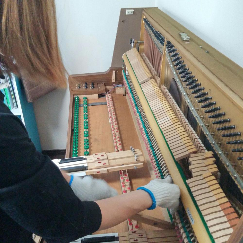 電子ピアノでなく、電気ピアノ 1時間20分くらい