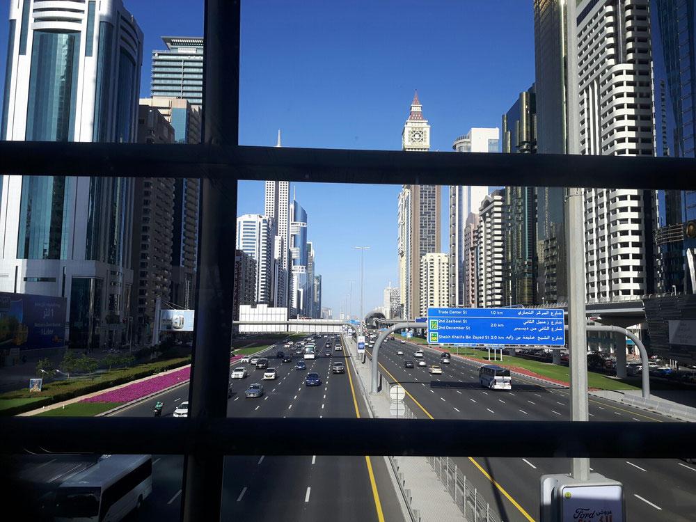 Stadtautobahn Dubai