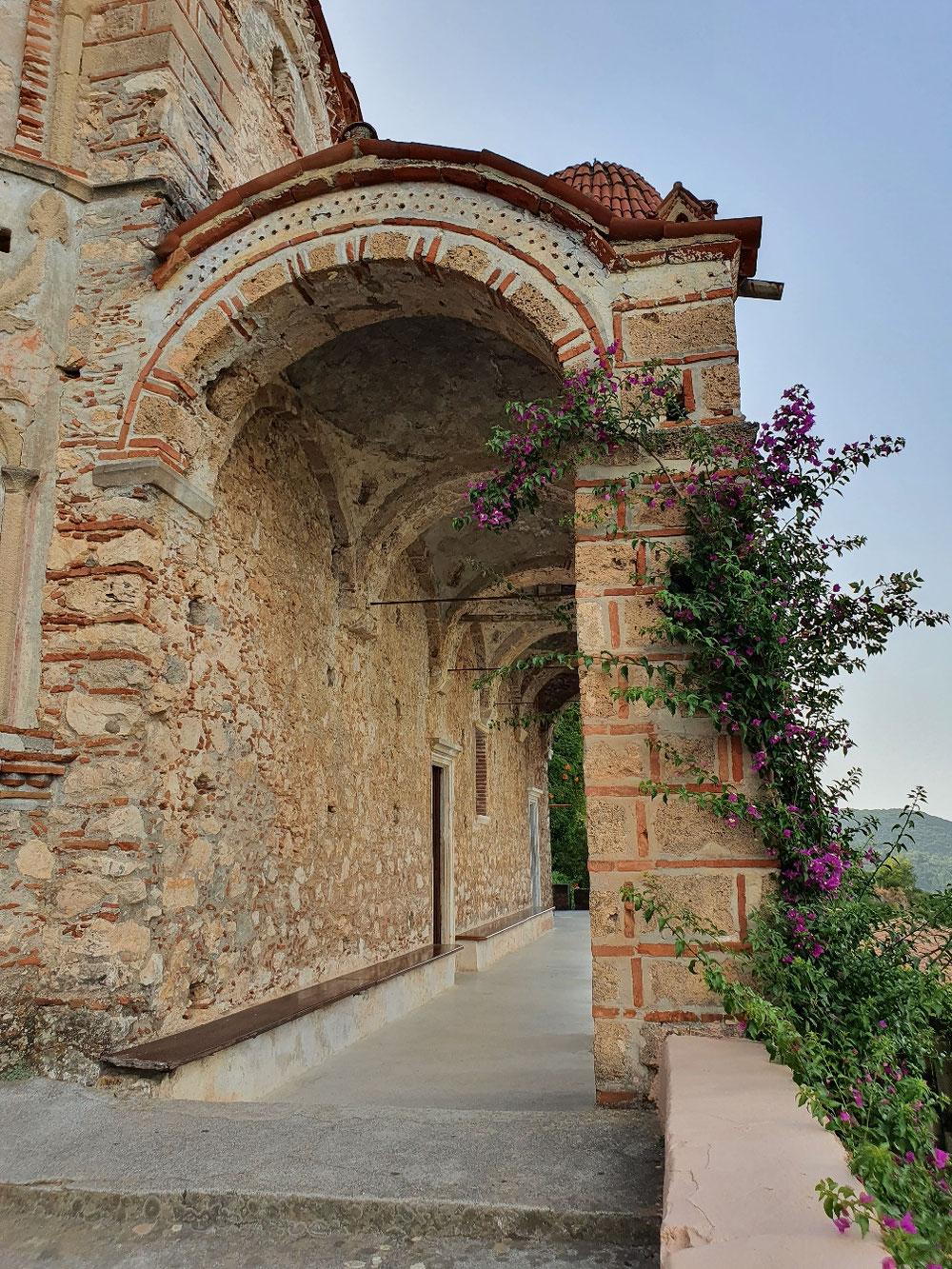 Zugang zur  Klosterkirche