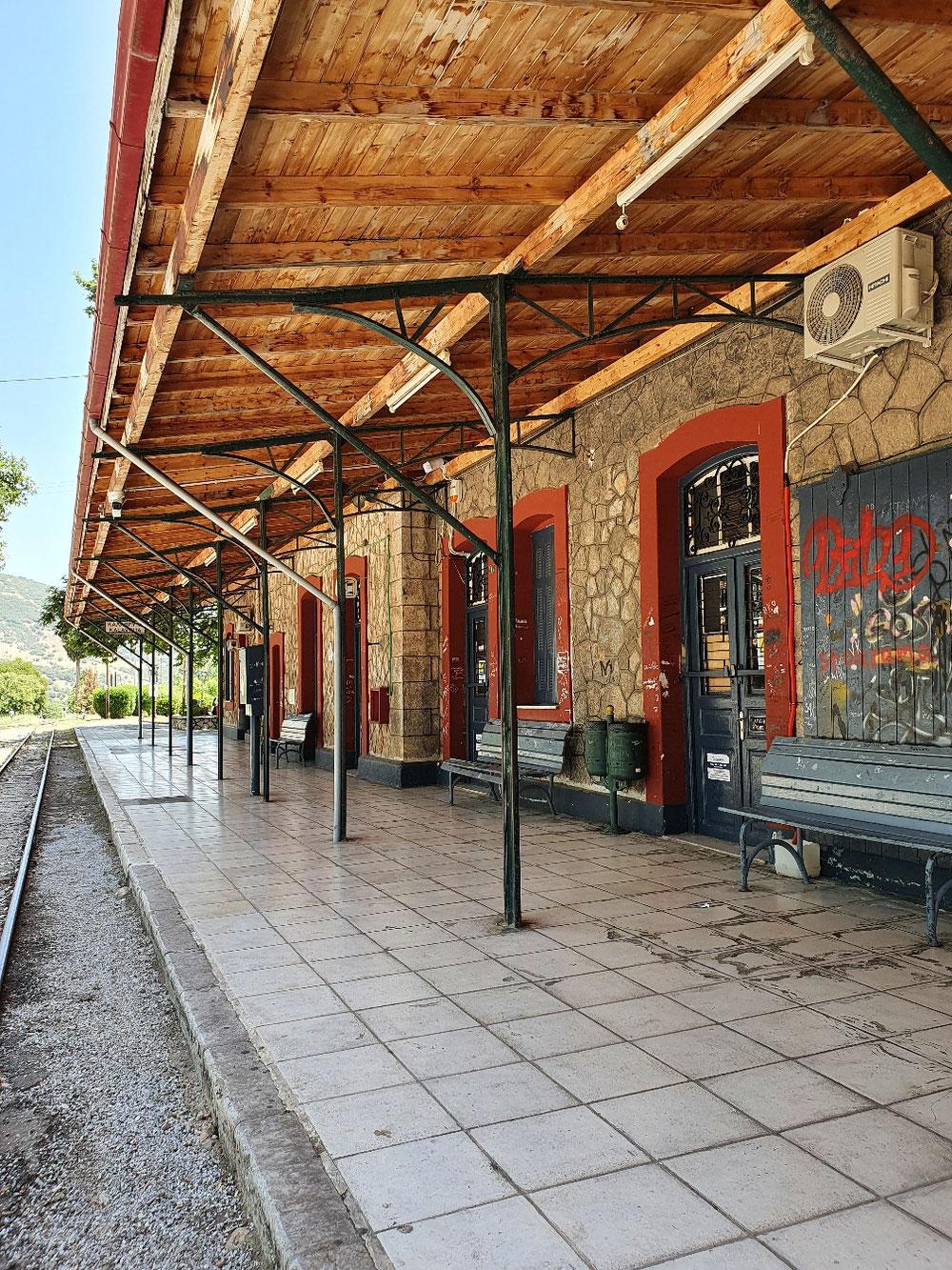 Bahnhof von Kalavryta