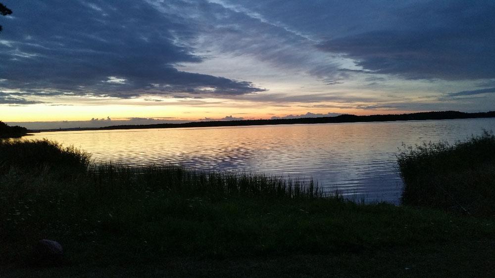 Foto Sonnenuntergang