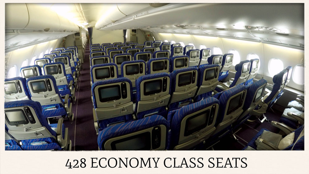China Southern Airlines A380 Economy Class