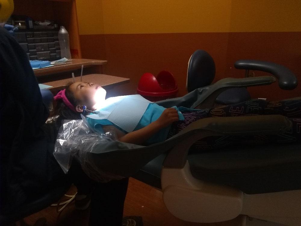 3女(5歳)- 初めての虫歯治療