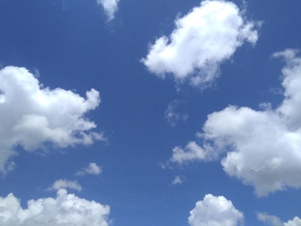 雨上がりのフロリダの空