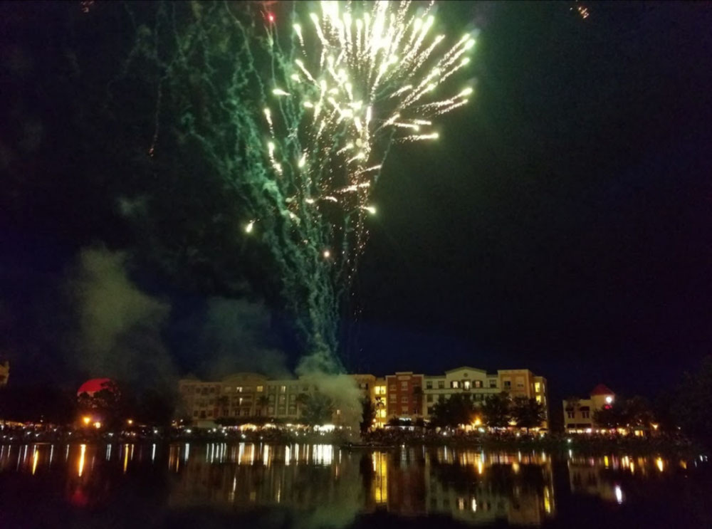 Independence Day Fire Works (by Avalon Park Website)