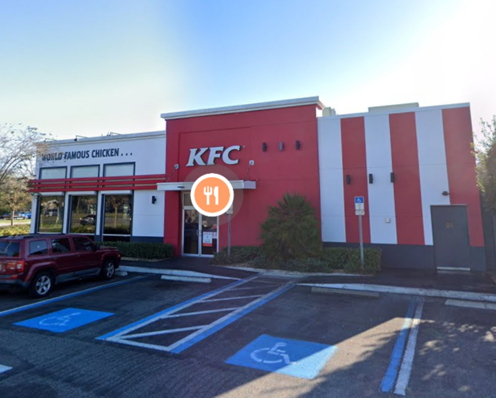 KFC @Sanford  (photo by Google map)